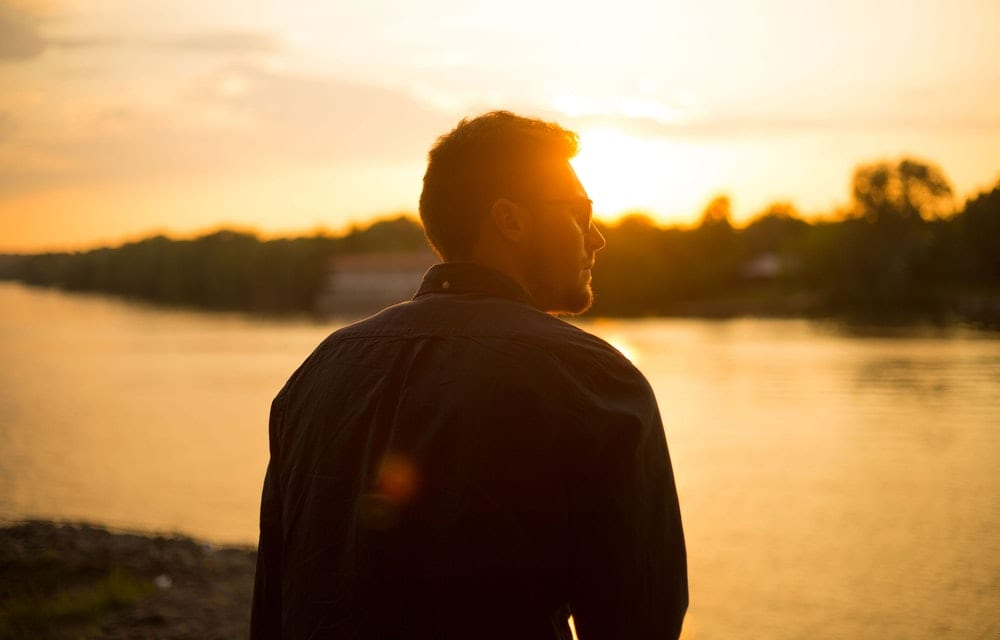 Pisces Man Watching The Sunset - 7 Pisces Man Traits