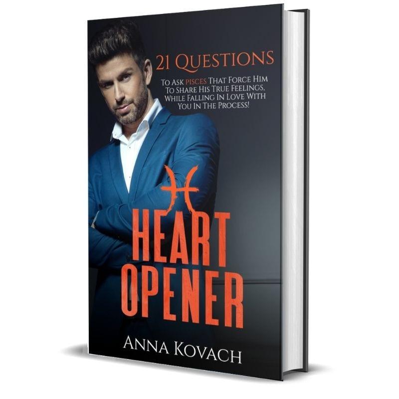 Pisces Man Heart Opener by Anna Kovach